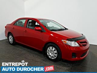 Used 2013 Toyota Corolla AIR CLIMATISÉ - ÉCONOMIQUE for sale in Laval, QC