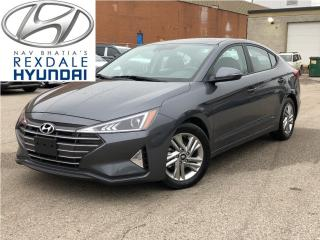 Used 2020 Hyundai Elantra Preferred w-Sun & Safety Package IVT for sale in Toronto, ON