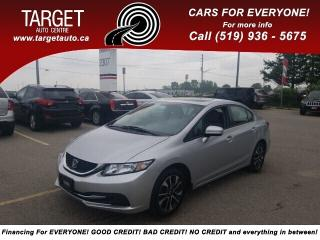 Used 2014 Honda Civic Sedan EX for sale in London, ON
