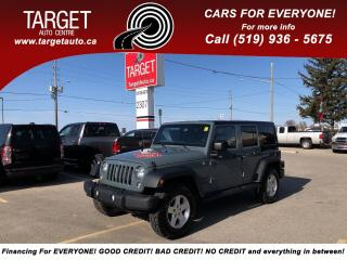 Used 2015 Jeep Wrangler Unlimited Sport, One Owner, No Accident for sale in London, ON