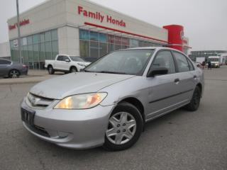 Used 2005 Honda Civic 4dr SE Auto | AFTERMARKET DECK! | BEST VALUE! for sale in Brampton, ON