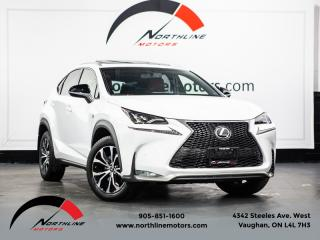 Used 2017 Lexus NX 200t NX200t F-Sport|Navigation|Blindspot|Red Leather|Camera for sale in Vaughan, ON