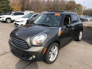 Used 2012 MINI Cooper Countryman FWD 4dr for sale in Mississauga, ON