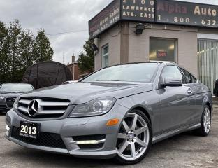 Used 2013 Mercedes-Benz C-Class C350 Coupe 4MATIC for sale in Scarborough, ON