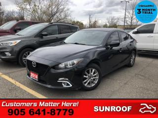 Used 2014 Mazda MAZDA3 GS-SKY  4DR SEDAN MANUAL GS-SKY for sale in St. Catharines, ON