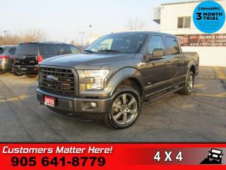 Used 2015 Ford F-150 XLT  4WD, SUPERCREW NAV CAM BUCKETS TOW for sale in St. Catharines, ON