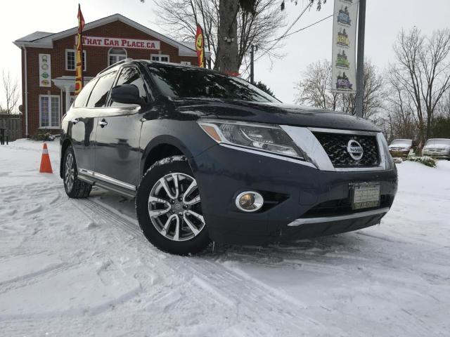 2013 Nissan Pathfinder SL CVT 4WD-7 Passenger-Power Liftgate-Backup Camera-Heated Wheel-Leather Interior-Front and Rear Heated Seats-Power Roof