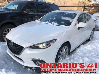 Used 2016 Mazda MAZDA3 NAVIGATION,SUNROOF,LEATHER !!! for sale in Toronto, ON