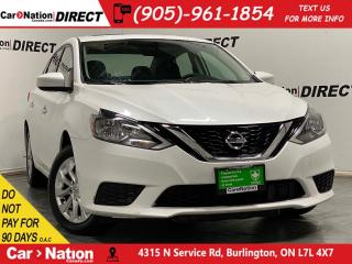 Used 2018 Nissan Sentra SV| SUNROOF| BACK UP CAMERA| HEATED SEATS| for sale in Burlington, ON