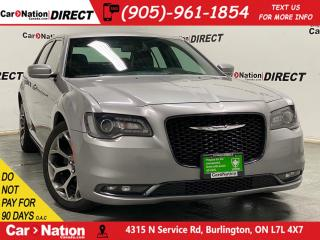 Used 2018 Chrysler 300 300S| LEATHER| APPLE CARPLAY & ANDROID| for sale in Burlington, ON