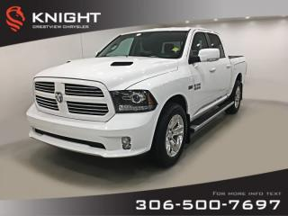 Used 2017 RAM 1500 Sport Crew Cab | Leather | Sunroof | RamBox for sale in Regina, SK