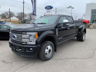 New 2019 Ford F-350 Super Duty DRW Platinum for sale in Hamilton, ON