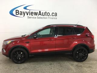 Used 2019 Ford Escape Titanium - 4WD! 1/2 LTHR! PANOROOF! NAV! BLK ALLOYS! for sale in Belleville, ON