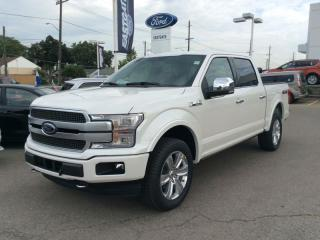New 2019 Ford F-150 PLATINUM for sale in Hamilton, ON