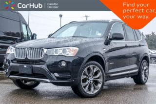 Used 2017 BMW X3 xDrive28i|Backup Cam|Bluetooth|Heated Front Seats|Push Start|19