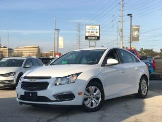 Used 2016 Chevrolet Cruze LT Remote Start|LOW KM|Rear CAM| for sale in Mississauga, ON