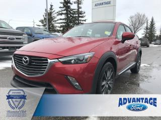 Used 2017 Mazda CX-3 GT Clean Carfax - Air Conditioning for sale in Calgary, AB