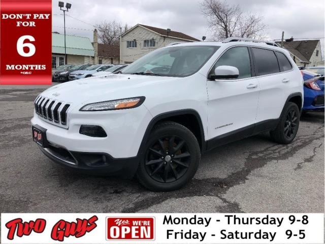 2014 Jeep Cherokee Limited |  Panoroof | Leather | 3.2L V6 4WD |
