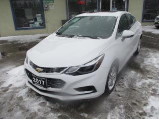 Used 2017 Chevrolet Cruze 'LIKE NEW' LT EDITION 5 PASSENGER 1.4L - TURBO.. FACTORY WARRANTY.. HEATED SEATS.. BOSE AUDIO.. BACK-UP CAMERA.. BLUETOOTH SYSTEM.. for sale in Bradford, ON
