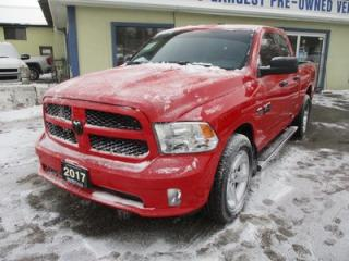 Used 2017 Dodge Ram 1500 LIKE NEW TRADESMEN EDITION 6 PASSENGER 5.7L - HEMI.. 4X4.. QUAD-CAB.. SHORTY.. BACK-UP CAMERA.. AUX/USB INPUT.. KEYLESS ENTRY.. for sale in Bradford, ON