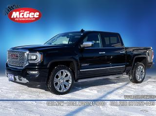 Used 2018 GMC Sierra 1500 Denali Crew 4x4 - 6.2L for sale in Peterborough, ON