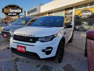 Used 2016 Land Rover Discovery Sport HSE LUXURY | Black Package | One Owner | No Accidents for sale in North York, ON