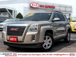 Used 2011 GMC Terrain SLT-1 BROWN LEATHER TRIM, BACK UP CAMERA, ALLOY RIMS, ECOTEC 2.4L for sale in Burlington, ON