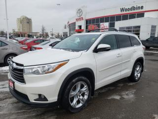 Used 2015 Toyota Highlander Limited AWD | Leather for sale in Etobicoke, ON