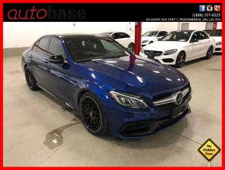 Used 2018 Mercedes-Benz C-Class C63 S AMG NIGHT PKG AMG PERFORMANCE SEATS DISTRONIC PREMIUM for sale in Vaughan, ON
