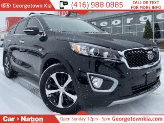 Used 2018 Kia Sorento EX V6 AWD LEATHER B/U CAM ALLOYS 7 SEATS LOADED for sale in Georgetown, ON
