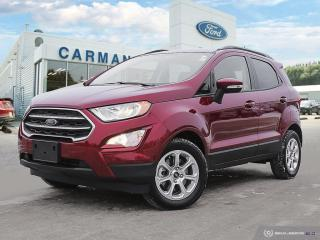 New 2020 Ford EcoSport SE for sale in Carman, MB