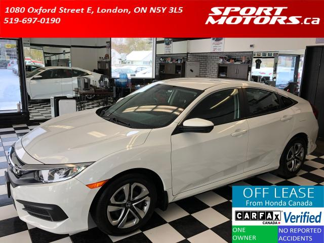 2018 Honda Civic LX+Apple & Android Play+Heated Seats+Cruise+A/C