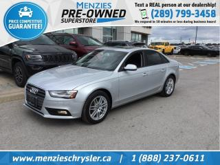 Used 2013 Audi A4 2.0T AWD, Bluetooth, Sunroof, Clean Carfax for sale in Whitby, ON