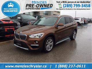 Used 2016 BMW X1 xDrive28i AWD, Navi, Pano Roof, One Owner for sale in Whitby, ON