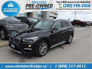 Used 2018 BMW X1 xDrive28i AWD, PANO ROOF, CLEAN CARFAX for sale in Whitby, ON