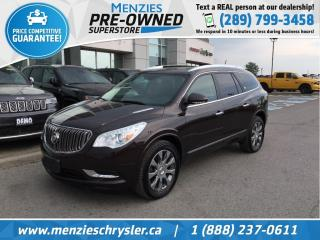 Used 2016 Buick Enclave Leather AWD, Navi, Pano Roof, Cam, Heat Seats for sale in Whitby, ON