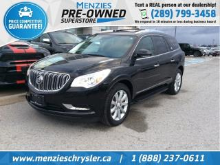 Used 2016 Buick Enclave Premium AWD, Sunroof, Navi, Leather, One Owner for sale in Whitby, ON