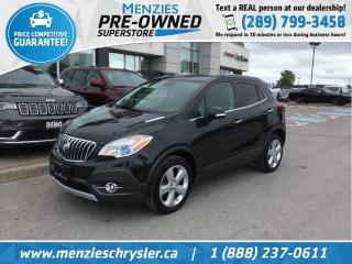Used 2016 Buick Encore Leather, AWD, Cam, One Owner, Clean Carfax for sale in Whitby, ON