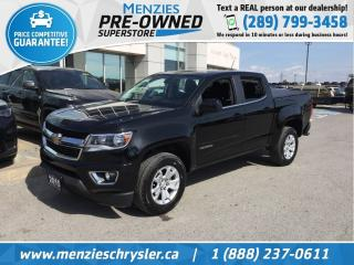 Used 2015 Chevrolet Colorado 2WD LT, Bluetooth, One Owner, Clean Carfax for sale in Whitby, ON