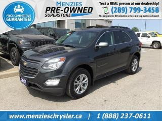 Used 2017 Chevrolet Equinox LT AWD, Navi, Sunroof, One Owner, Clean Carfax for sale in Whitby, ON