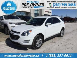 Used 2017 Chevrolet Equinox LT, AWD, Bluetooth, Cam, Alloys, Clean Carfax for sale in Whitby, ON