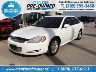 Used 2013 Chevrolet Impala LT, Hands-Free, Audio Jack, Cruise, Alloys for sale in Whitby, ON