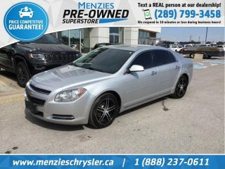 Used 2012 Chevrolet Malibu LT, Air, Power/Heated Mirrors, Alloys for sale in Whitby, ON