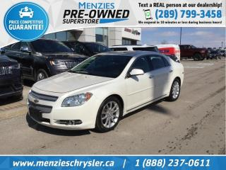 Used 2010 Chevrolet Malibu LTZ, Sunroof, Leather, Heated Frt Seats for sale in Whitby, ON