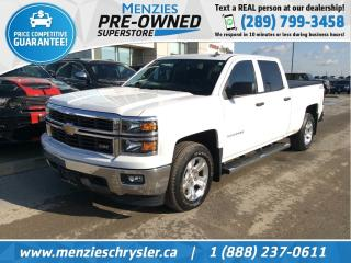 Used 2014 Chevrolet Silverado 1500 Z71 4x4, Bluetooth, Cam, Accident Free for sale in Whitby, ON