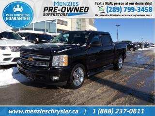 Used 2012 Chevrolet Silverado 1500 LTZ 4x4, Leather, Sunroof, Navi, Clean Carfax for sale in Whitby, ON