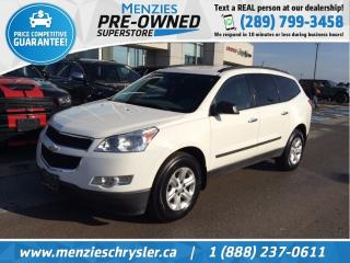 Used 2012 Chevrolet Traverse LS, 8-Passenger, Alloys, Fogs, Cruise for sale in Whitby, ON