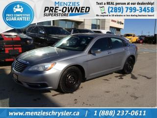 Used 2013 Chrysler 200 Limited, Sunroof, Leather, Streaming Audio for sale in Whitby, ON