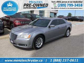 Used 2013 Chrysler 300 Touring, Bluetooth, Pano Roof, Clean Carfax for sale in Whitby, ON