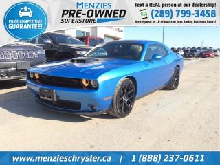 Used 2015 Dodge Challenger R/T Shaker, Sunroof, Navi, One Owner, Clean Carfax for sale in Whitby, ON